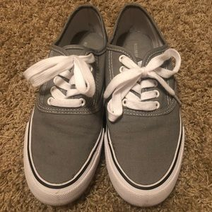 Gray Womans Mossimo Casual Sneakers Size 8